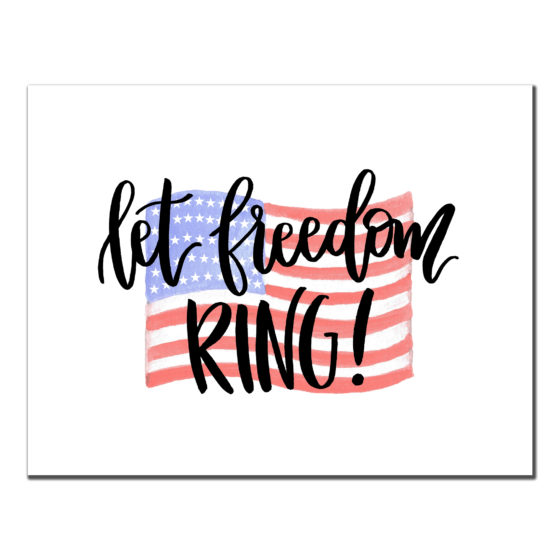 Freedom Ring - 4th of July