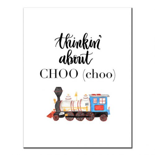 Thinkin' About CHOO (choo)