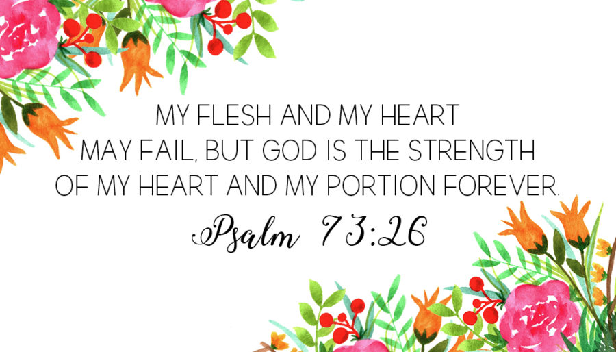 Psalms in your Palm- Bible Verse cards - Be Sweet Ink